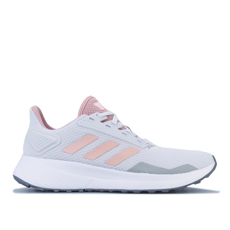 Adidas Womens Duramo 9 Running Shoes Pink grey