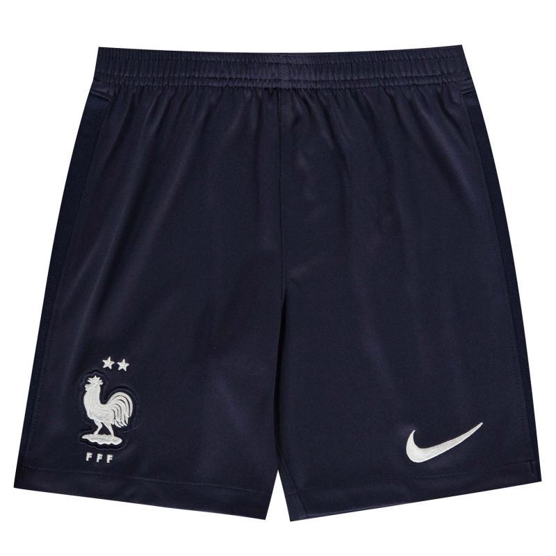 Nike France Home Shorts 2020 Junior Blue