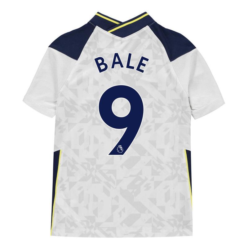 Nike Tottenham Hotspur Gareth Bale Home Shirt 2020 2021 Junior White