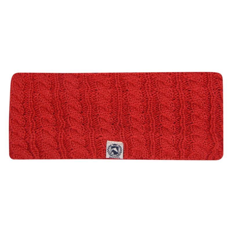Requisite Headband Ladies Riding Red