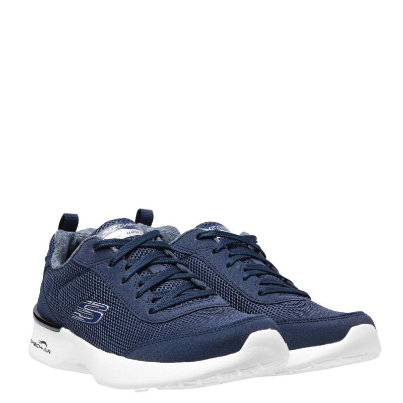 Skechers Dyna Air Trainers Ladies Navy/White