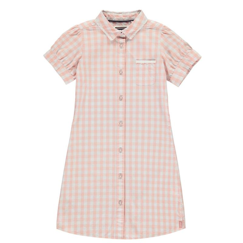 SoulCal Dress Pink Gingham