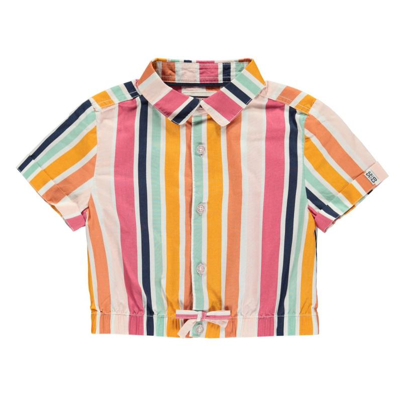 SoulCal Sleeve Shirt Summer Stripe