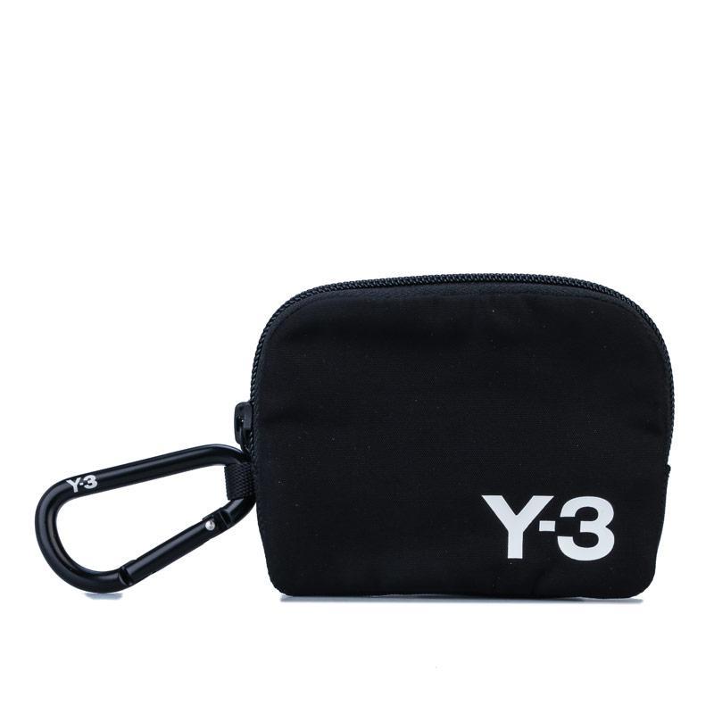 Y-3 Logo Pouch Black