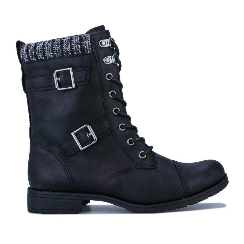 Rocket Dog Womens Billie Grand Boots Black