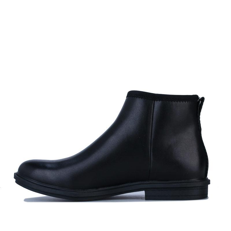 Rocket Dog Womens Greya Rancho Ankle Boots Black
