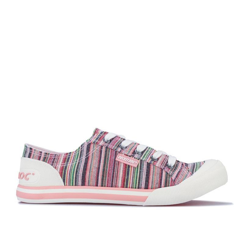 Obuv Rocket Dog Womens Jazzin Sammie Stripe Pumps Pink