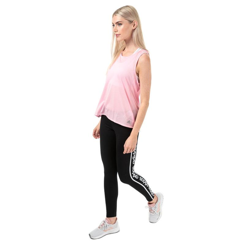 Adidas Womens Response Light Speed Tank Top Pink