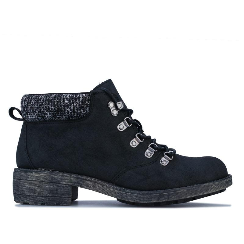 Rocket Dog Womens Train Pablo Ankle Boots Black