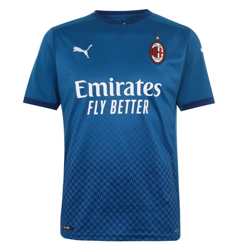 Puma AC Milan Third Shirt 2020 2021 Green