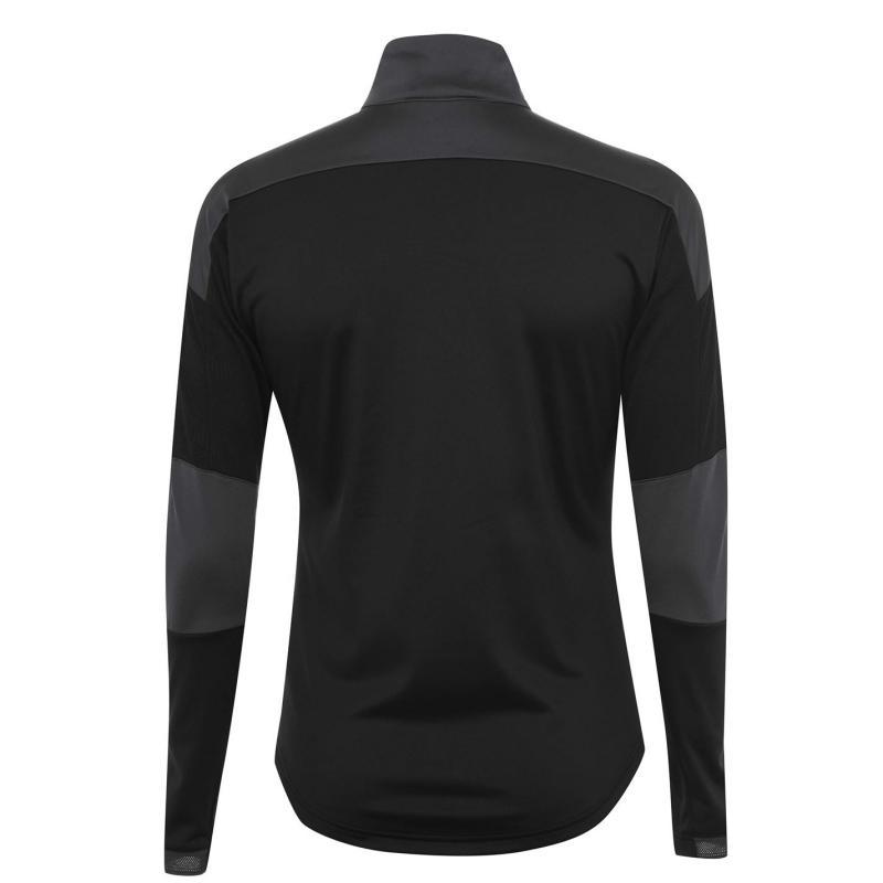Puma Newcastle United Stadium Jacket 2020 2021 Mens Black/Asphalt