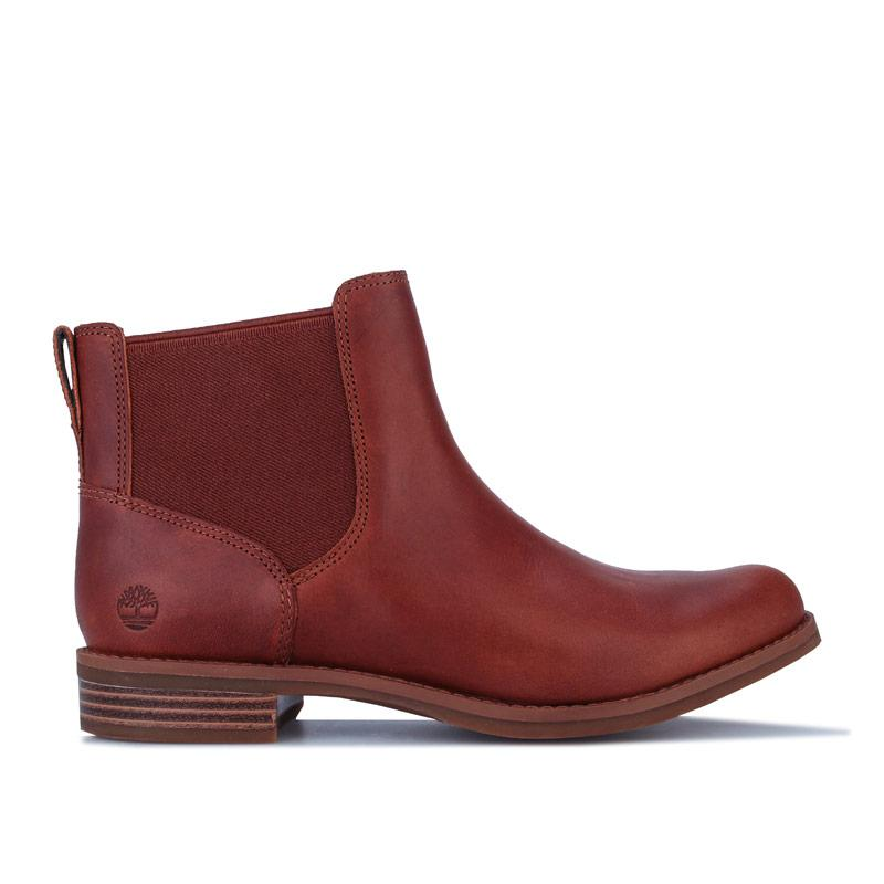 Timberland Womens Magby Low Chelsea Boots Brown