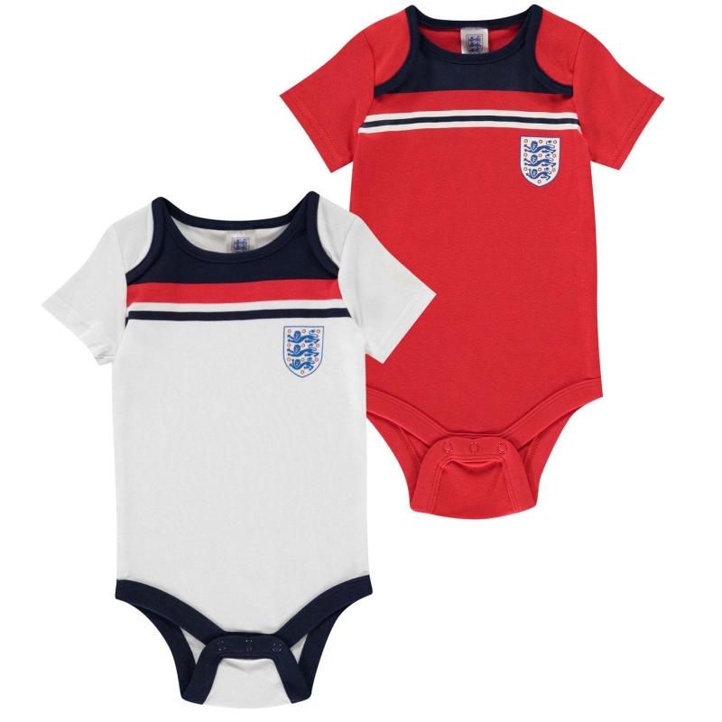 Brecrest England 1982 2 Pack Baby Body Suits White