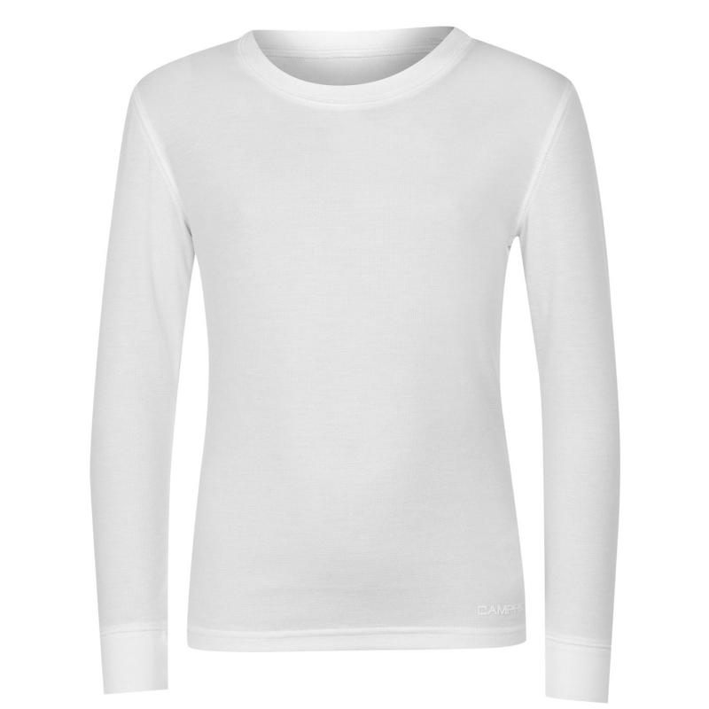 Campri Thermal Baselayer Top Unisex Junior White