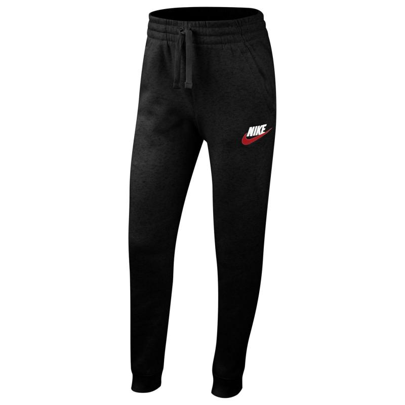 Tepláky Nike Sportswear Club Fleece Big Kids' Pants Black/Red