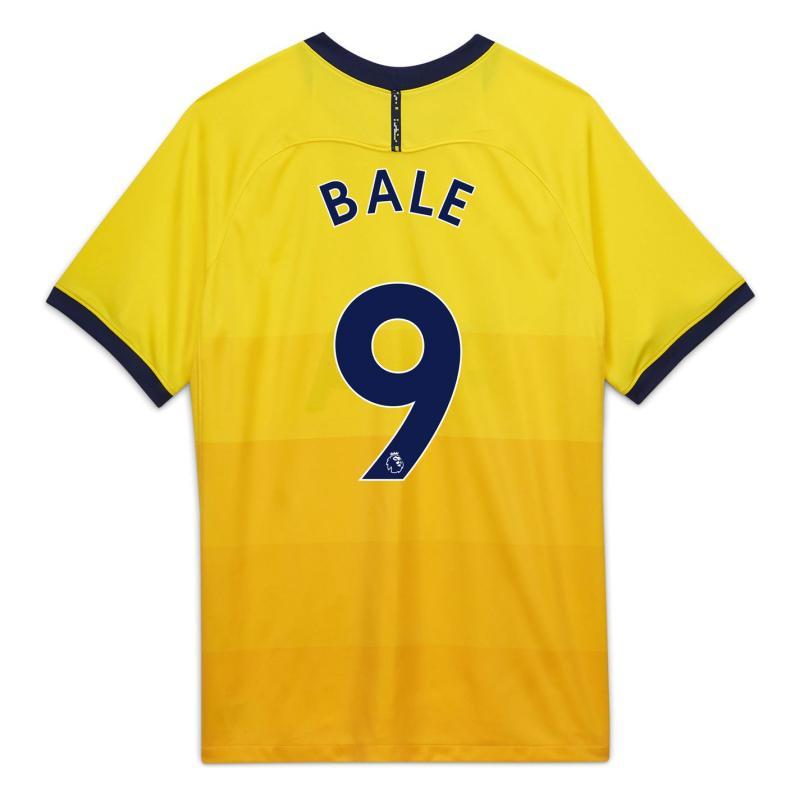 Nike Tottenham Hotspur Gareth Bale Third Shirt 2020 2021 Junior Yellow