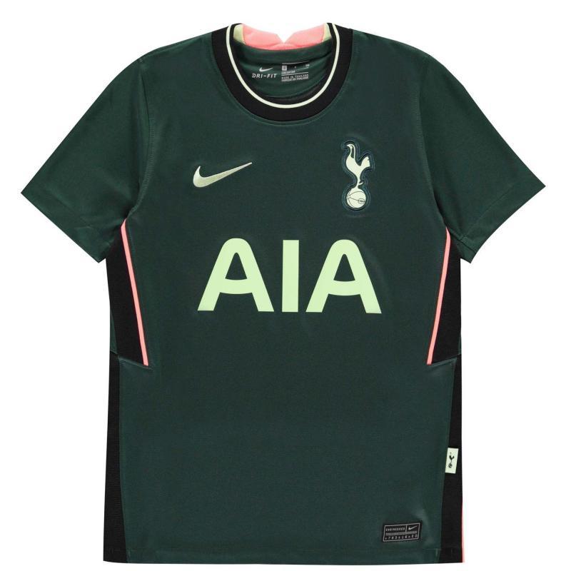 Nike Tottenham Hotspur Heung Min Son Away Shirt 2020 2021 Junior Green