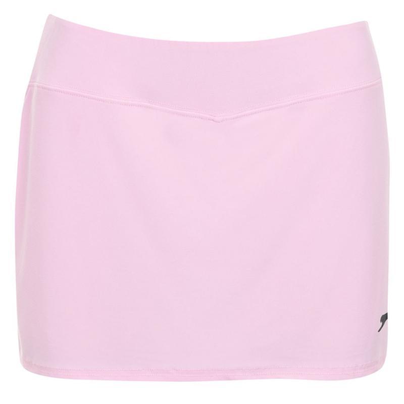 Slazenger Court Skort Ladies Baby Pink