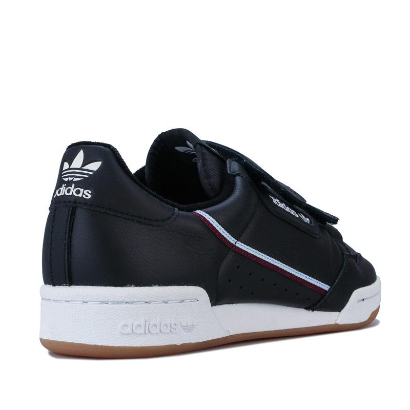 Adidas Originals Mens Continental 80 Strap Trainers Black