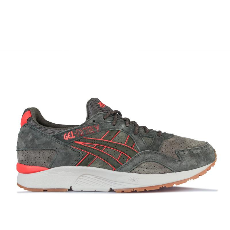 Asics Mens GEL-LYTE V Trainers Green