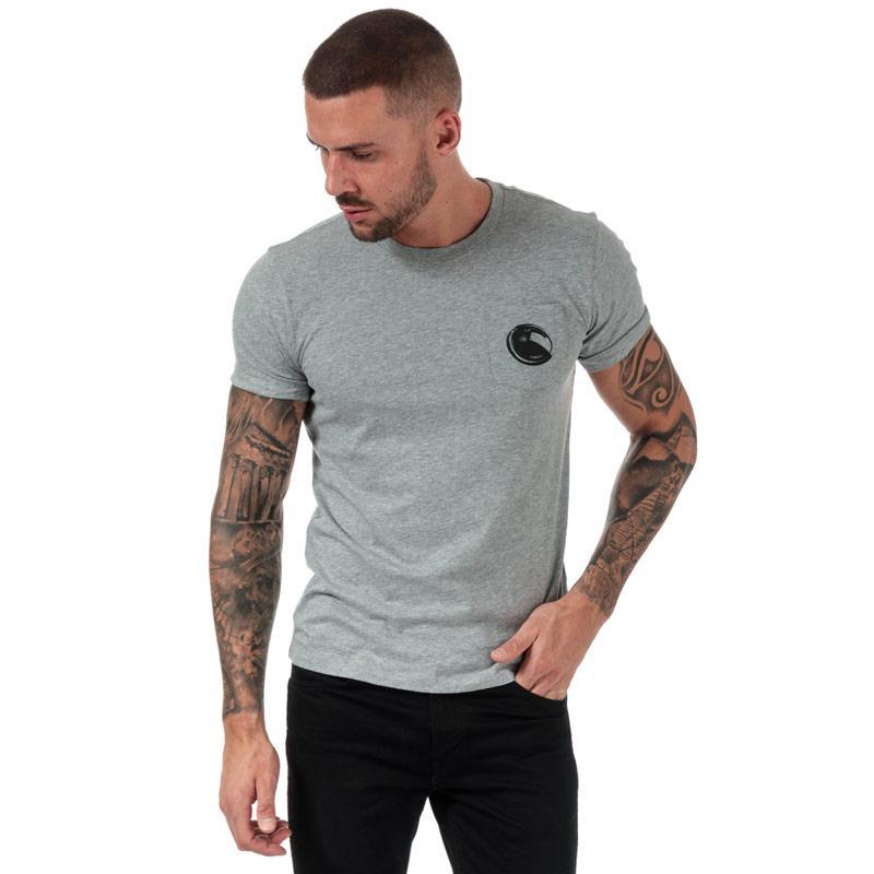 Tričko C.P. Company Mens Printed Goggle T-Shirt Grey