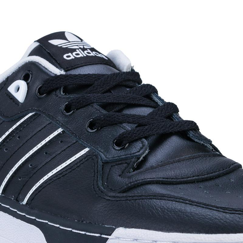 Adidas Originals Mens Rivalry Low Trainers Black