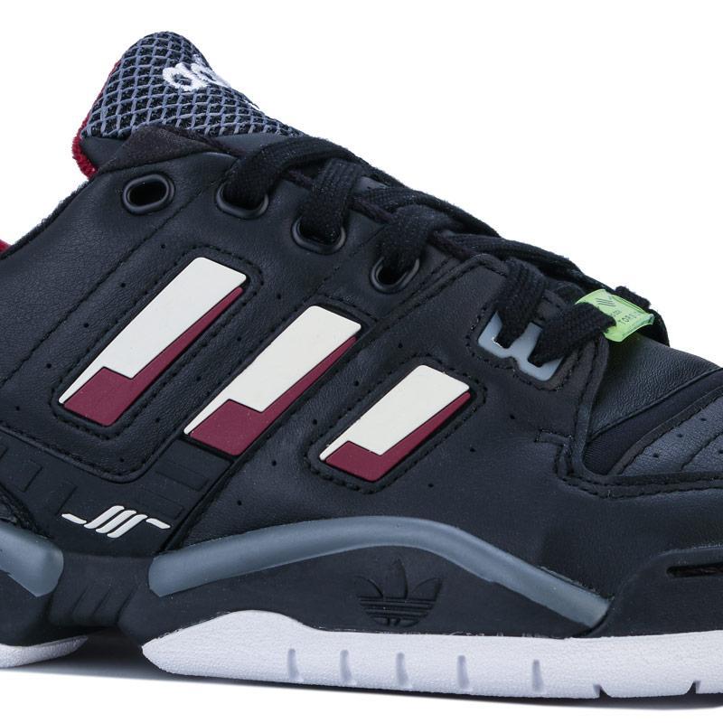 Adidas Originals Mens Torsion Comp Trainers Black