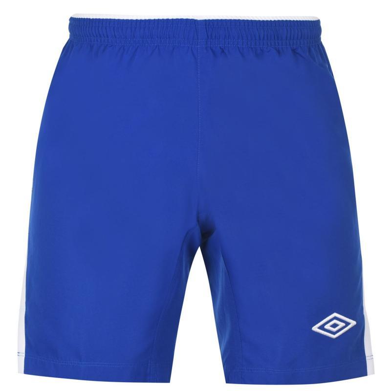 Umbro Football Shorts Mens Royal/White
