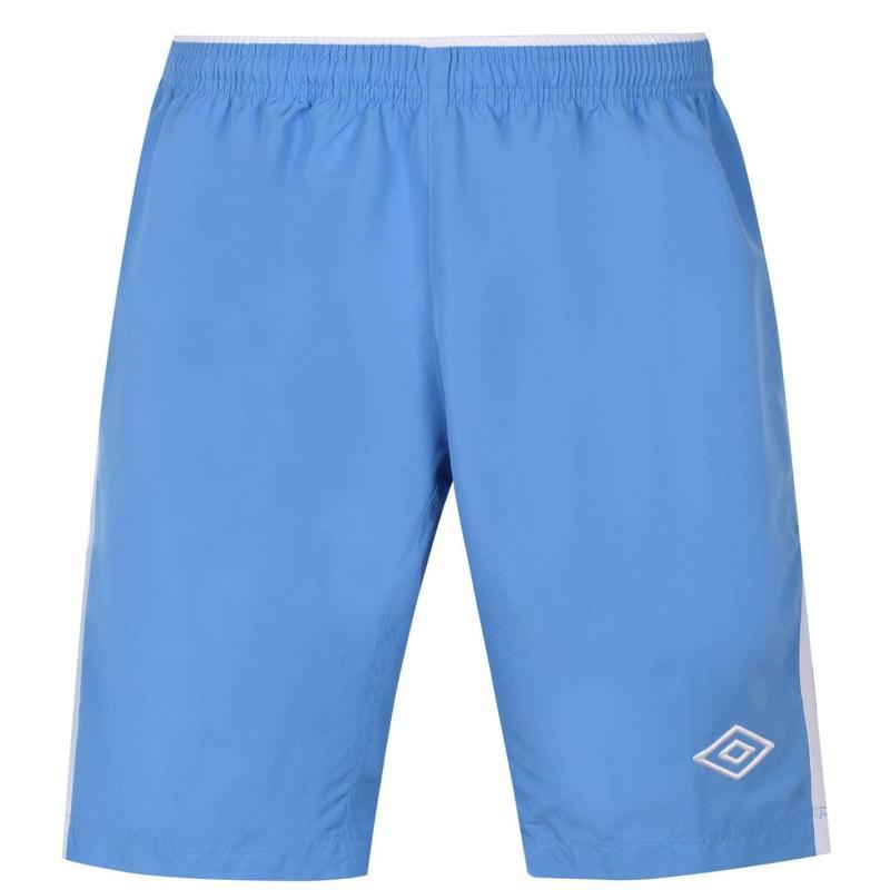 Umbro Football Shorts Mens Sky/White