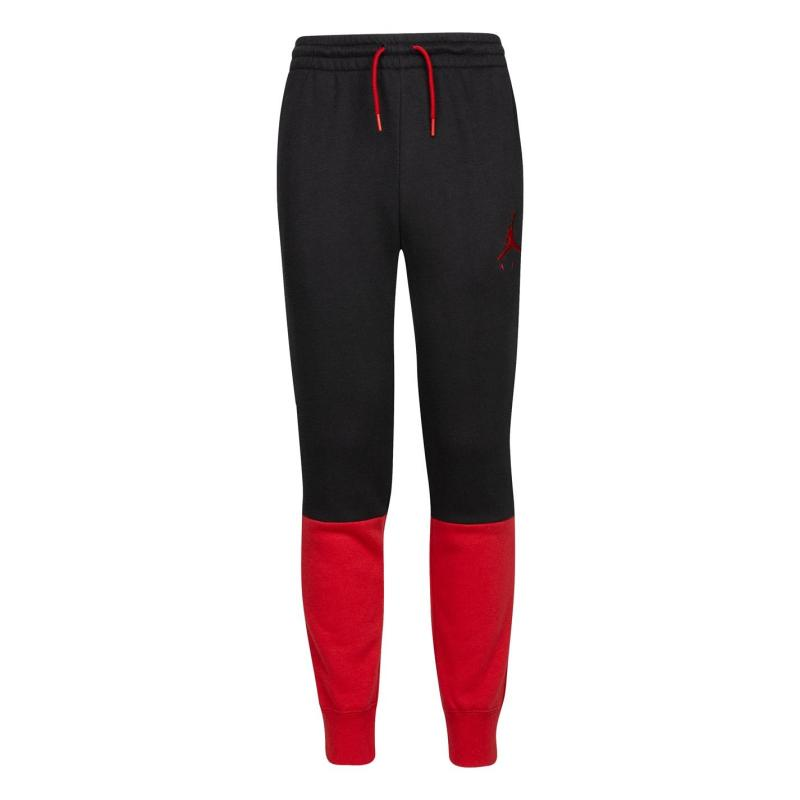 Tepláky Air Jordan Sweatpants Junior Black/Red