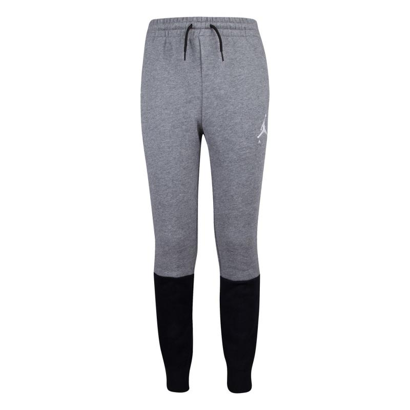 Tepláky Air Jordan Sweatpants Junior Black/Grey