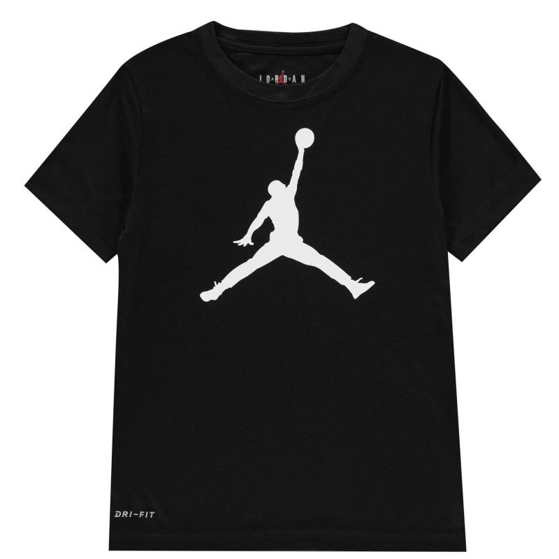 Tričko Air Jordan T Shirt Black