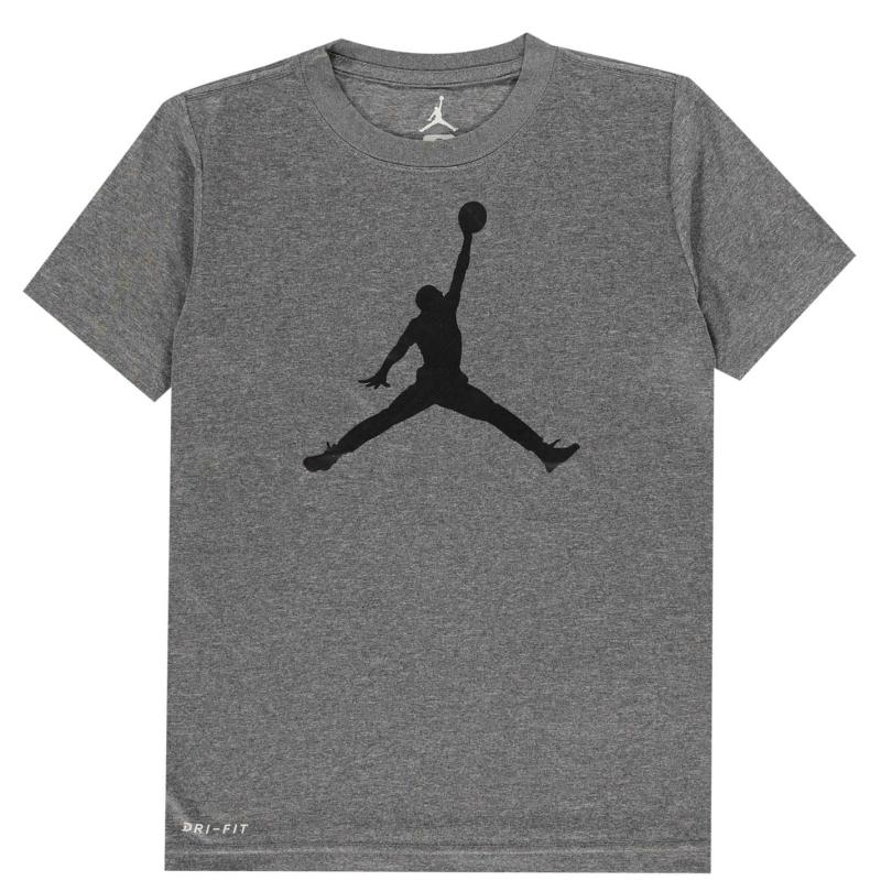 Tričko Air Jordan T Shirt Carbon Heather
