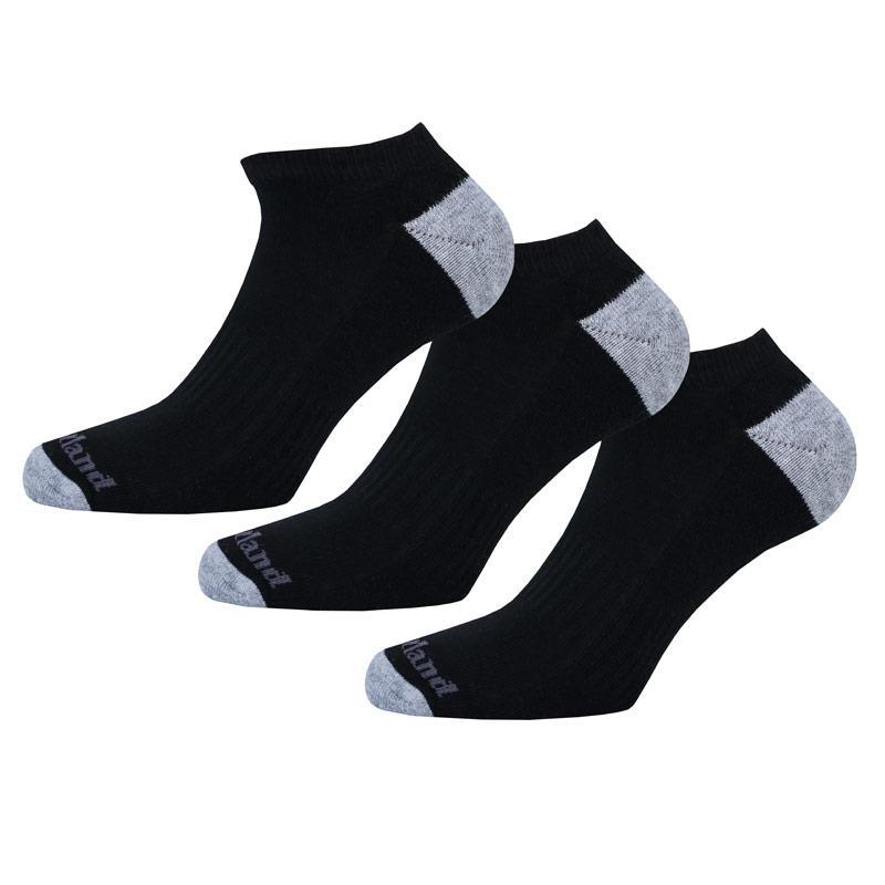 Ponožky Timberland Mens 2 Pack No Show Socks Black