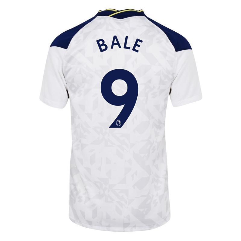 Nike Tottenham Hotspur Gareth Bale Home Shirt 2020 2021 White
