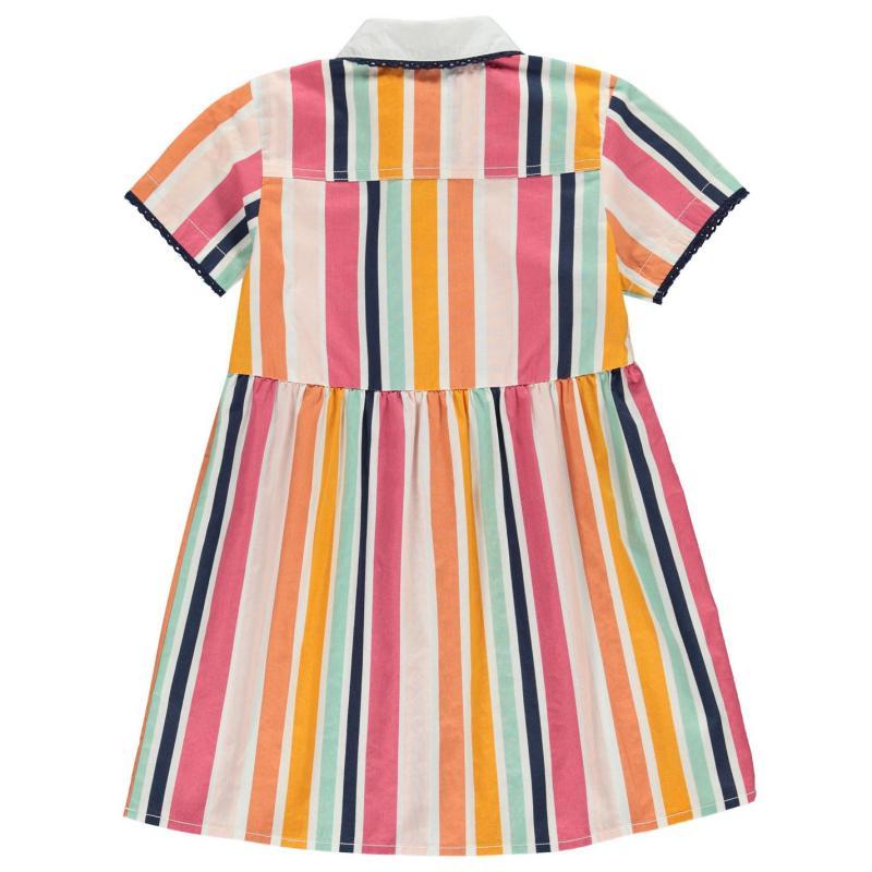 SoulCal Shirt Dress Infant Girls Summer Stripe