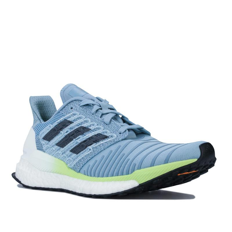 Adidas Womens Solar Boost Running Shoes Grey blue