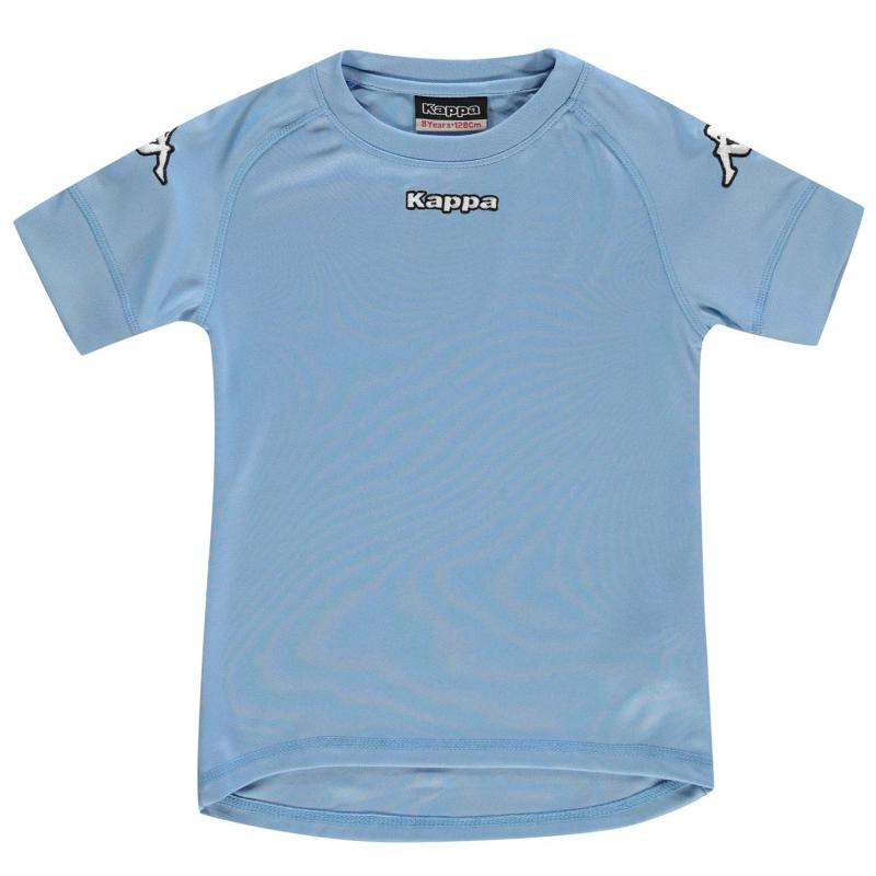 Tričko Kappa Pomezia T Shirt Light Blue