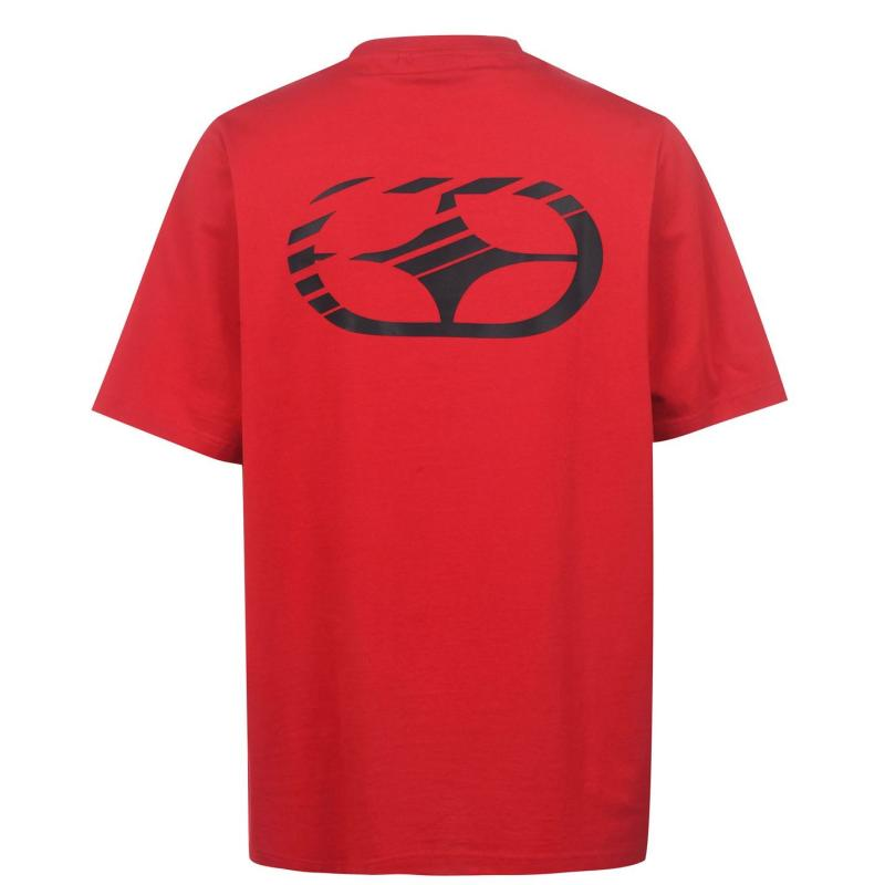 Tričko No Fear Graphic T Shirt Mens Red