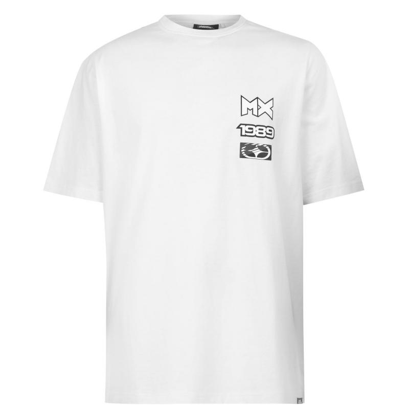 Tričko No Fear Graphic T Shirt Mens White