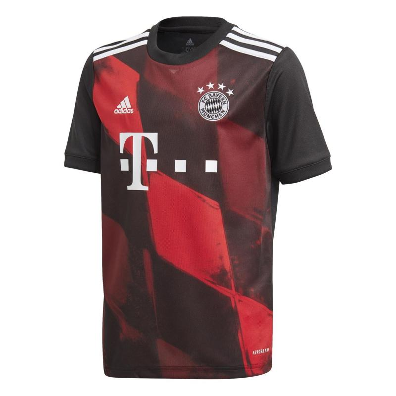 Adidas Bayern Munich Third Shirt 2020 2021 Junior Black