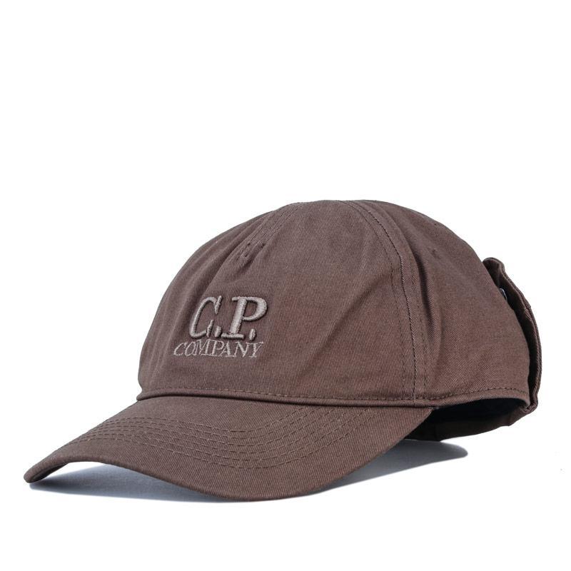 C.P. Company Mens Goggle Cap Green
