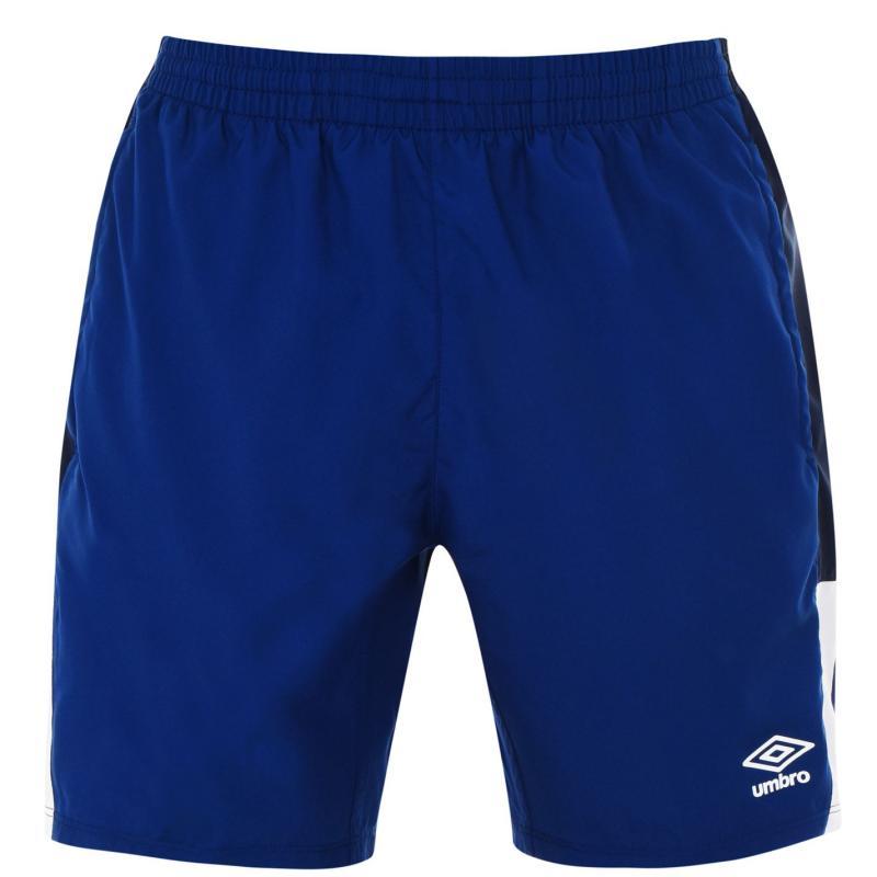 Umbro Poly Shorts Mens Navy