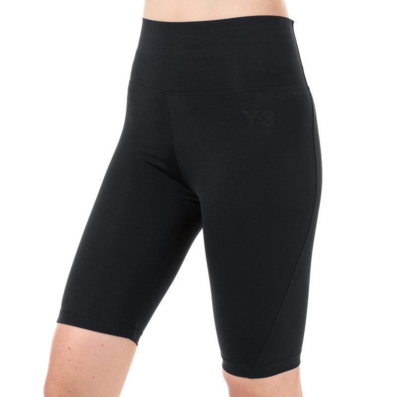 Y-3 Womens CL Shorts Black