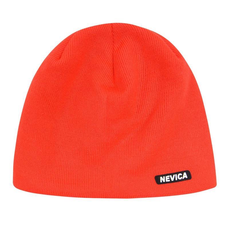 Nevica Logo Beanie Hat Mens Red