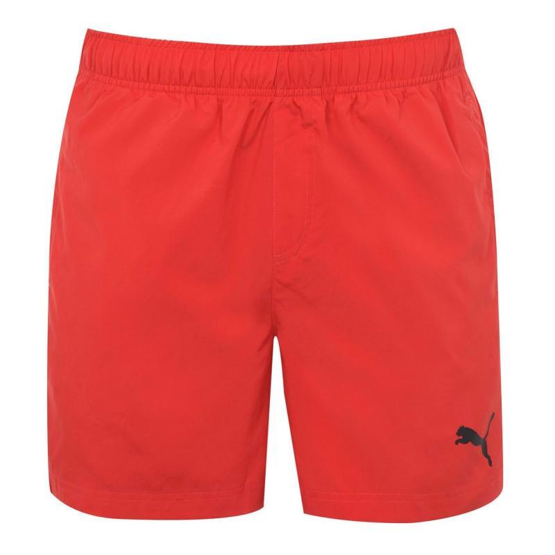 Puma Football Training Shorts Mens Flame Scarlet