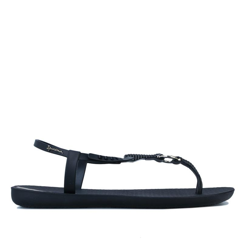 Boty Ipanema Womens Charm Link Sandals Black