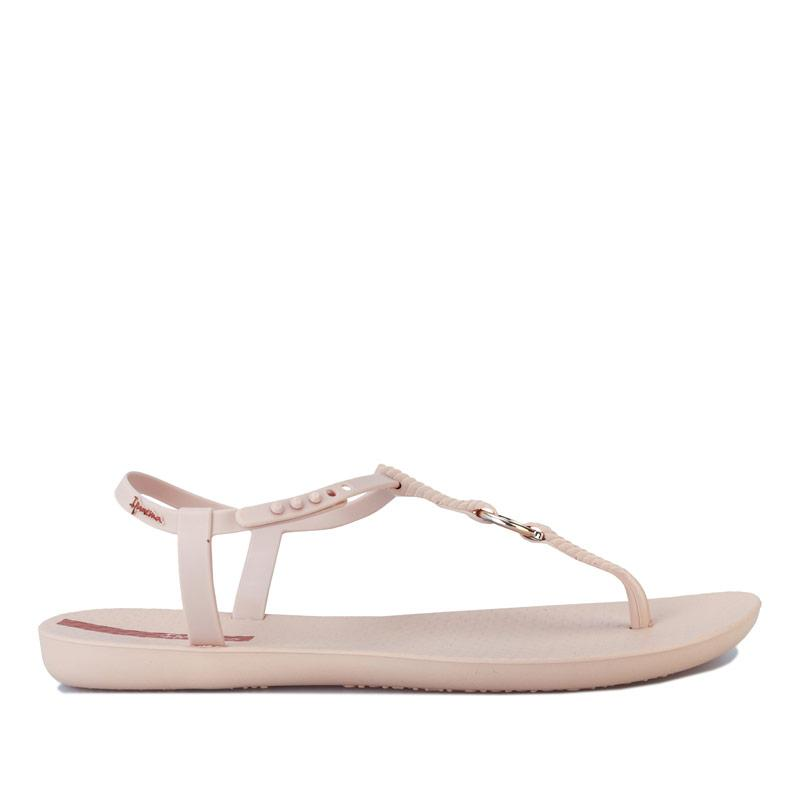 Boty Ipanema Womens Charm Link Sandals Ivory