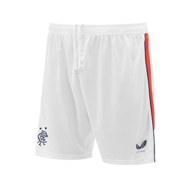 Castore Rangers Home Goalkeeper Shorts 2020 2021 White