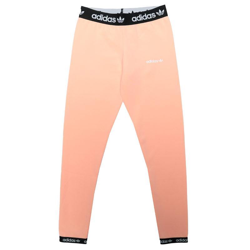 Adidas Originals Junior Girls Leggings Pink